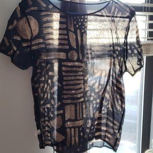 American Apparel handmade top